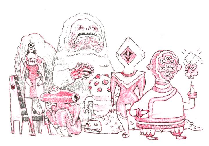 a doodle by lanbridge
