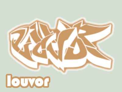 Graffiti wildstyle - Louvor