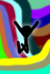 Happiness of a Stickman