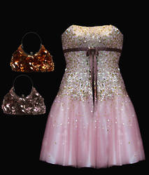 Formal Dress And Purses by PrincessInHeaven