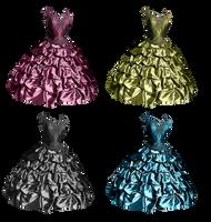 Unique Gown by PrincessInHeaven