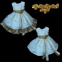 Girls Dress by PrincessInHeaven