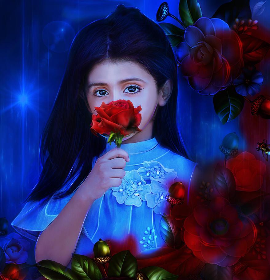 Flower Princess by PrincessInHeaven