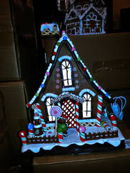 Gingerbread House by PrincessInHeaven