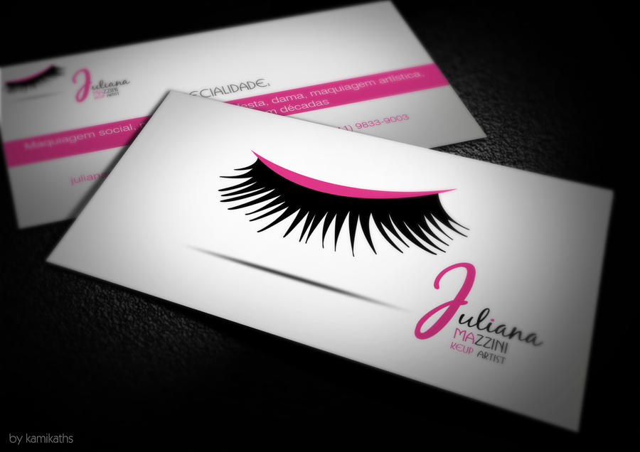 Business Card Make Up by xkami-kath on DeviantArt