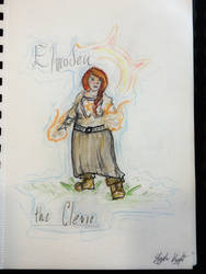 10/365 Younger Twin Elmoden the Cleric  by Knightlerr