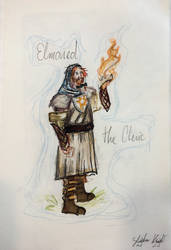 11/365 Elder Twin Elmoned the Cleric by Knightlerr