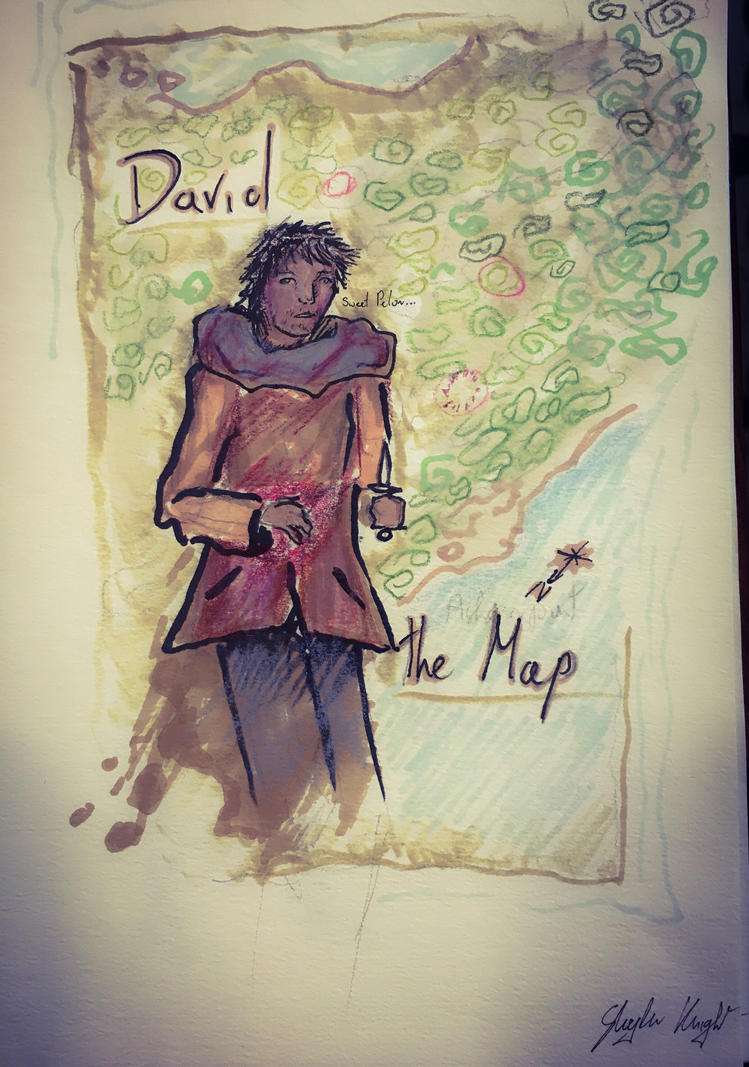 12/365 David the living Map by Knightlerr
