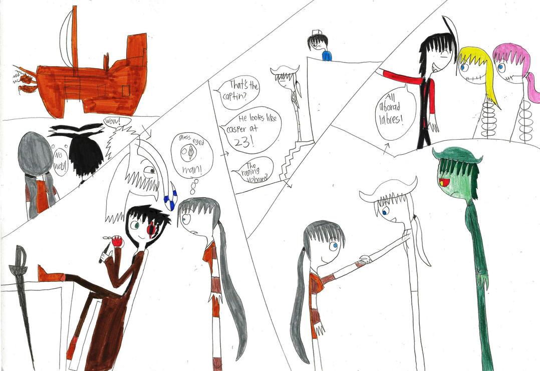 Scare School Treasure island ch.4 part 2 by longshot09