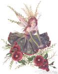 Hollyhock Princess