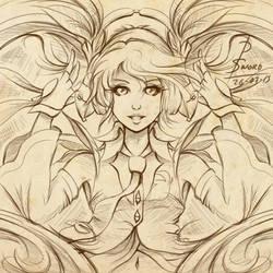 Hatsune Miku, Lemon fruit version by DestinySwordArt