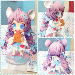 Custom chibi doll: Aria by KawaiiDreamyPixie