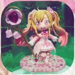 CUSTOM DOLL: Hatsune Miku (Sakura pixie version) by KawaiiDreamyPixie