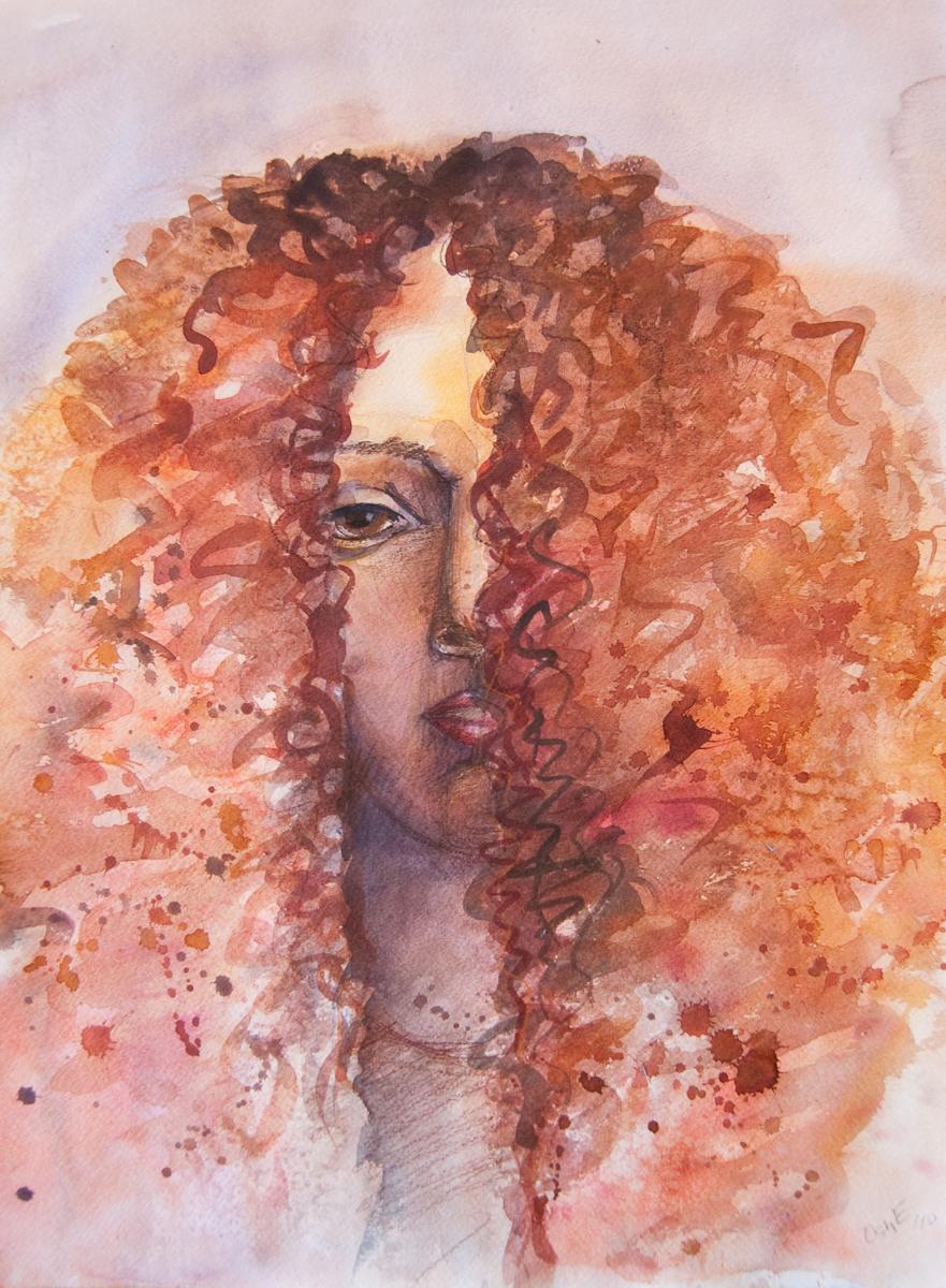 Redhead by luckye