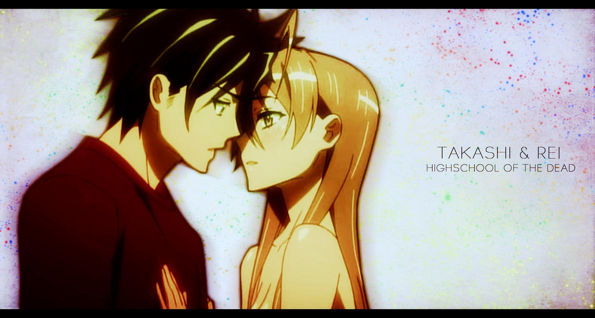 Highschool of the Dead - Takashi and Rei Wallpaper by ...