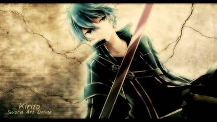 Sword Art Online - Kirito Wallpaper by eaZyHD