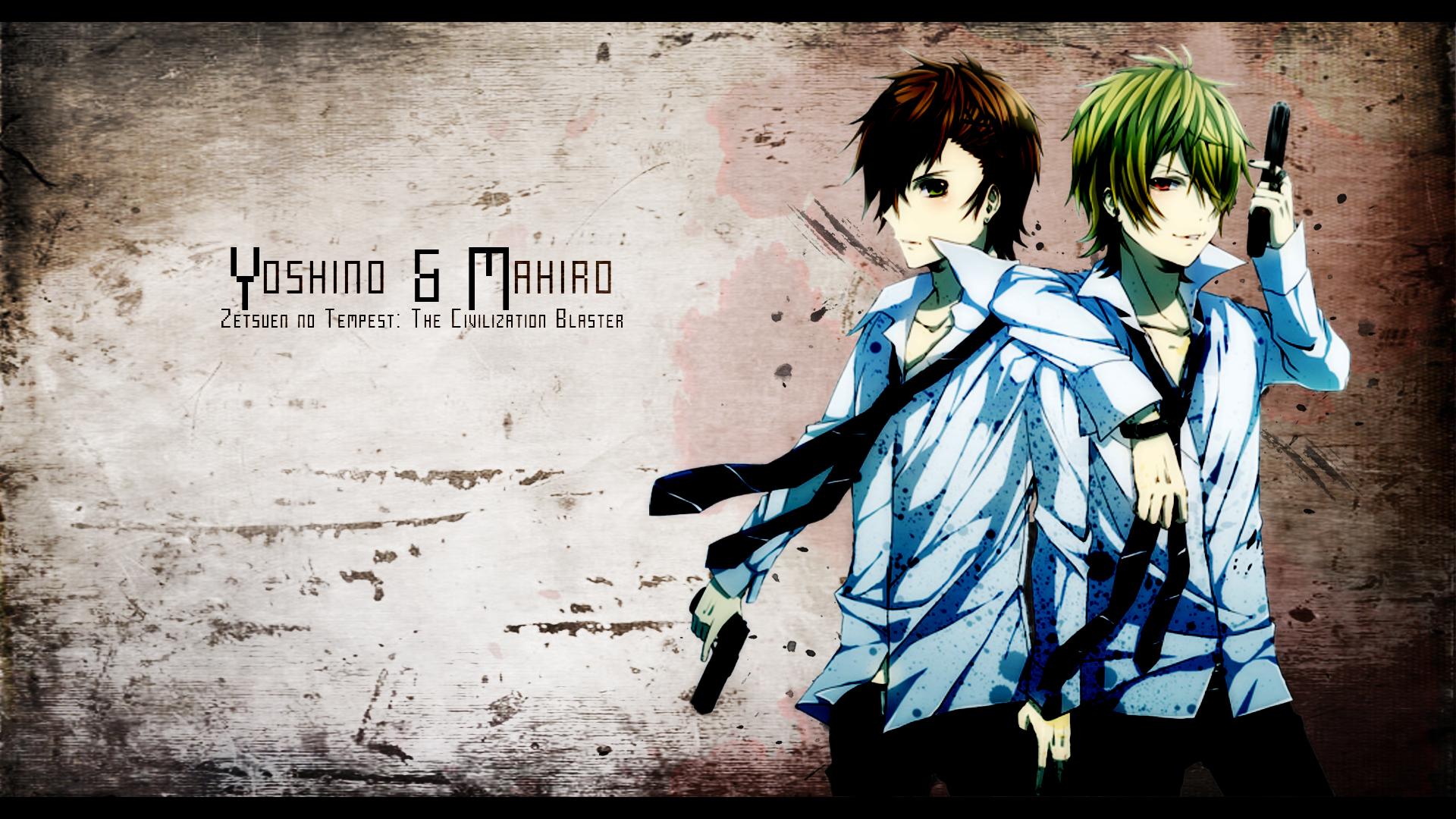 Zetsuen no Tempest - Yoshino and Mahiro Wallpaper by eaZyHD on ...