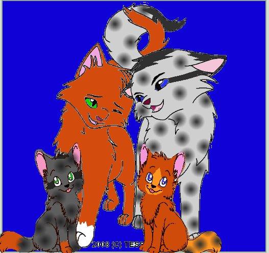 Warrior Cats Squirrelflight And Ashfur Mating
