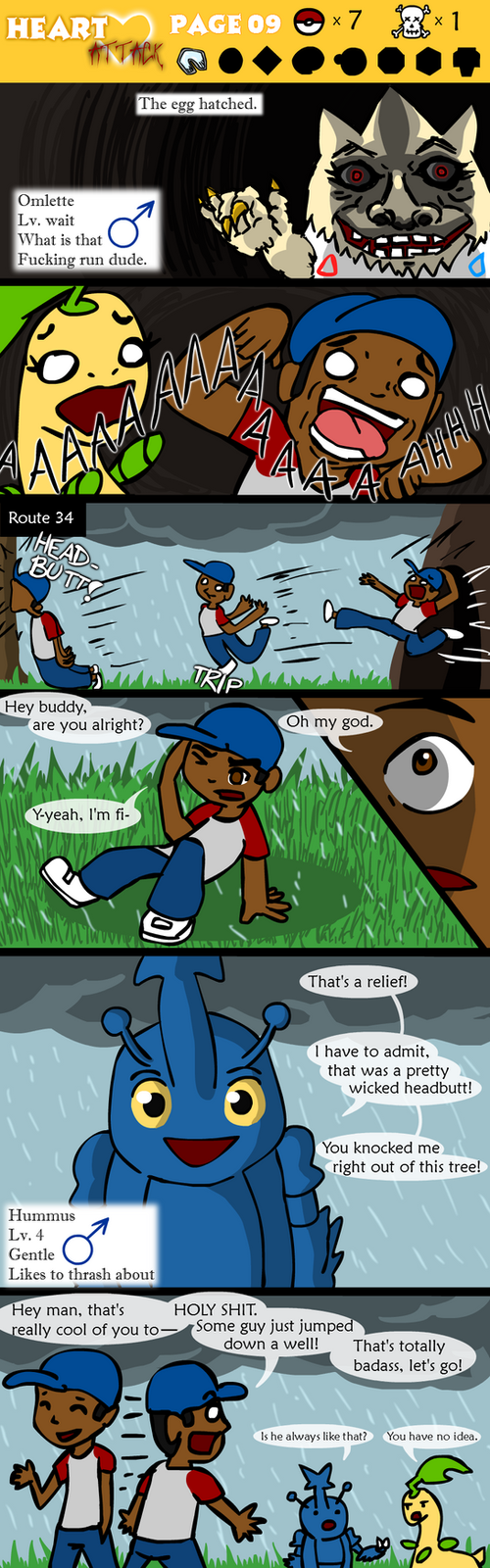 Heart Attack - Page 9 by AranOcean