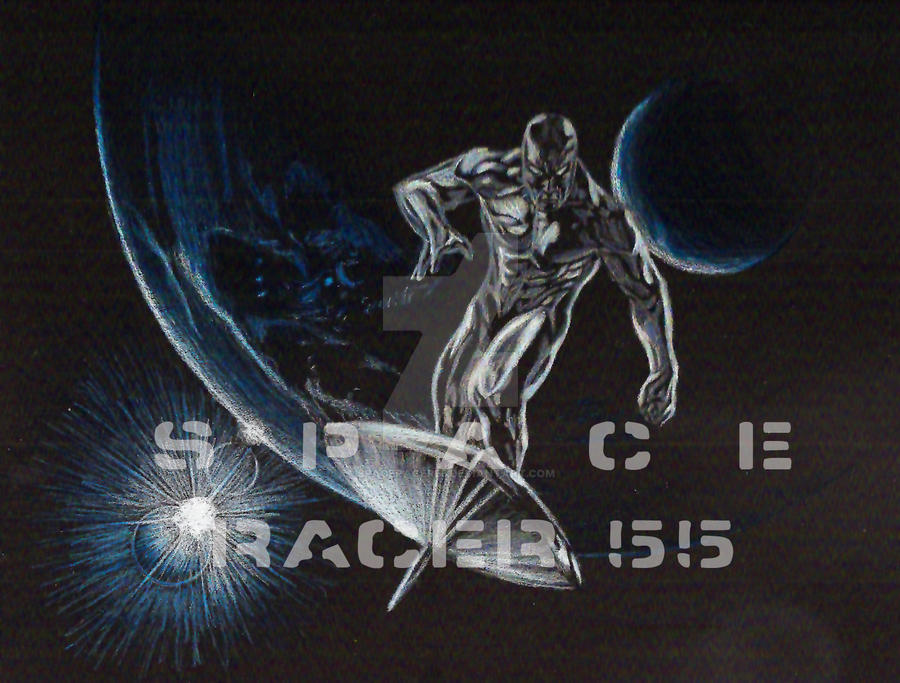 Silver Surfer - Blue Earth by SpaceRacer55