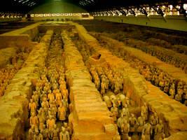 Xian-Terracotta Soldiers by margsifrenia13