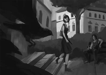 Second Girl by ticor