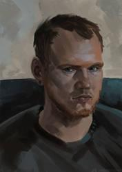 Self-portrait by ticor