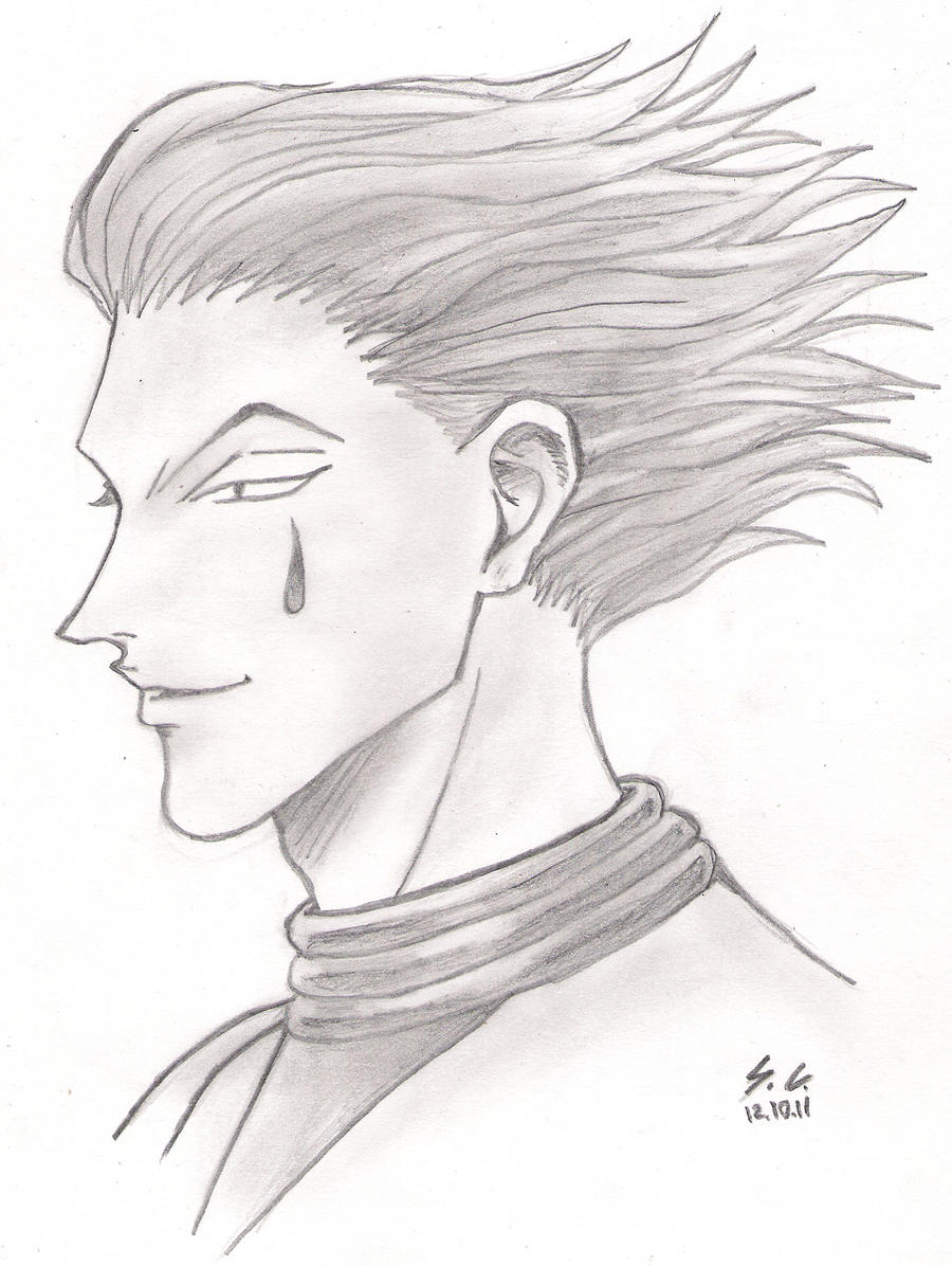 It is a photo of Declarative Hunter X Hunter Xname Drawing