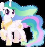 MLP Vector - Princess Celestia by ThatUsualGuy06