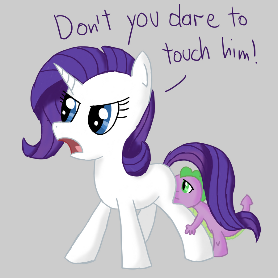 Rarity And Spike By DoodleSuovick On DeviantArt