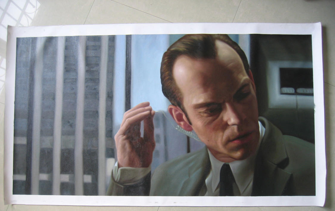 The Matrix - Agent Smith by benw99