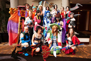 Cosplay: Final Fantasy X at Otakon 2010 by JacquelineChroma