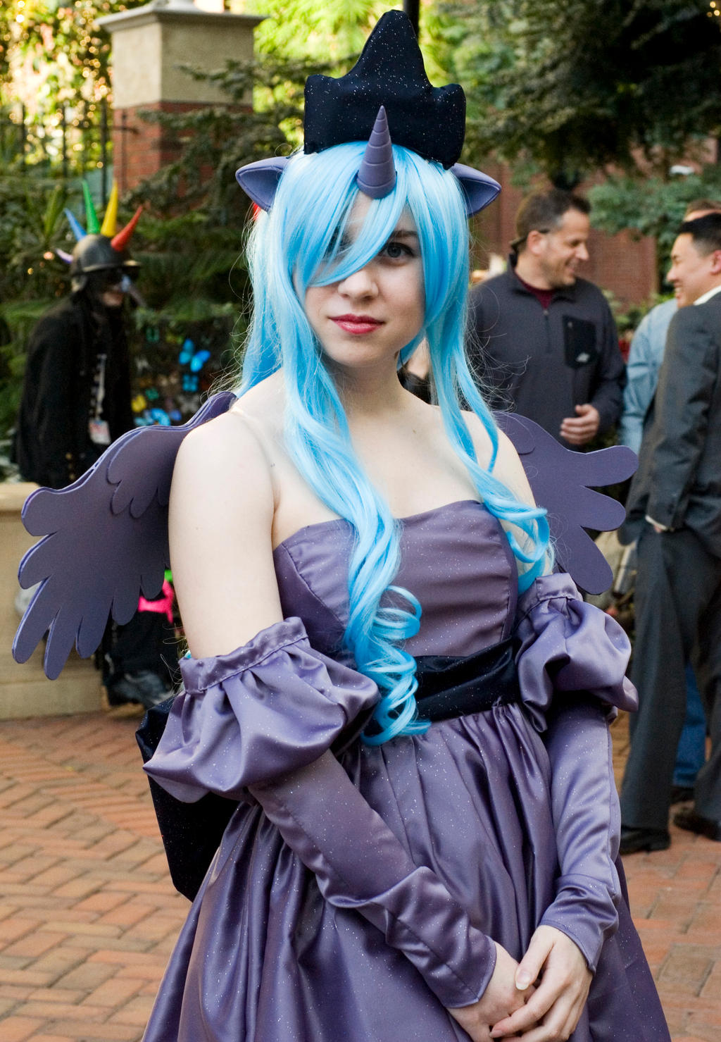 Katsucon 2012: Princess Luna by JacquelineChroma