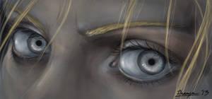 Fanart: Silver-Eyed Witch