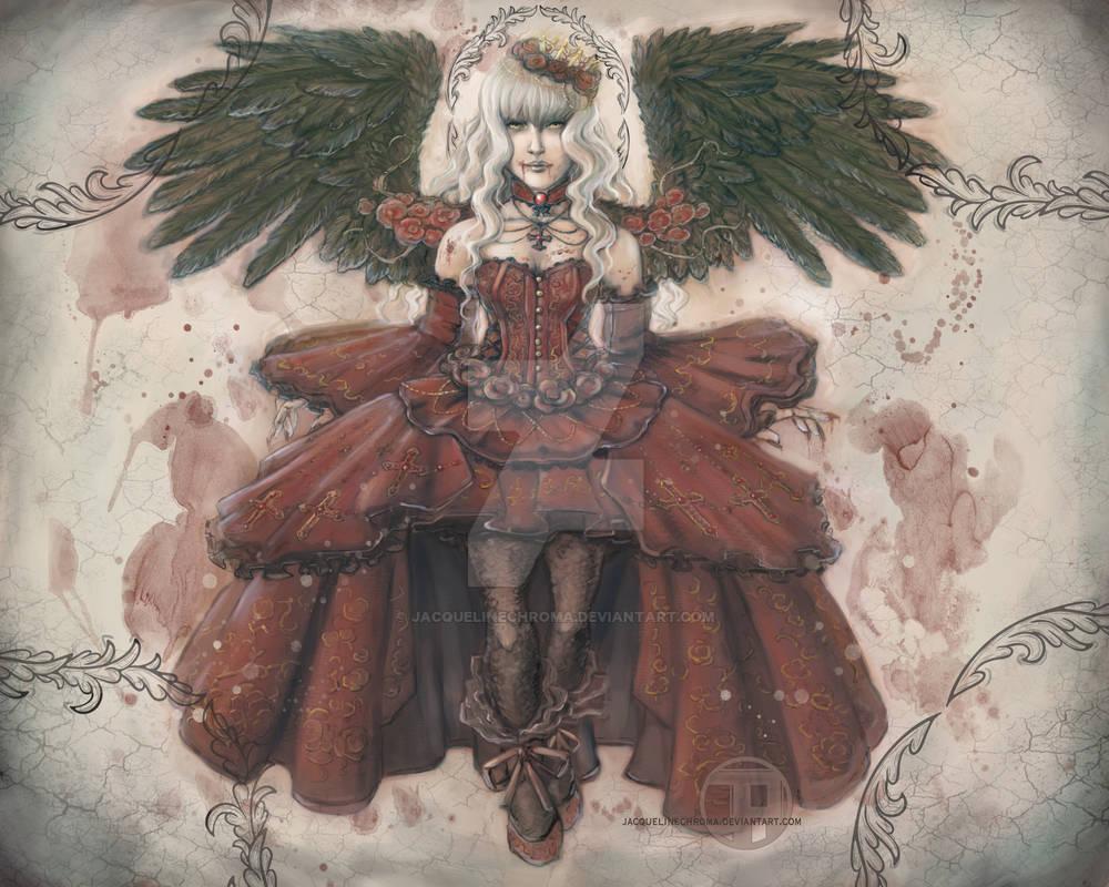 Concept: Angelic Vampire