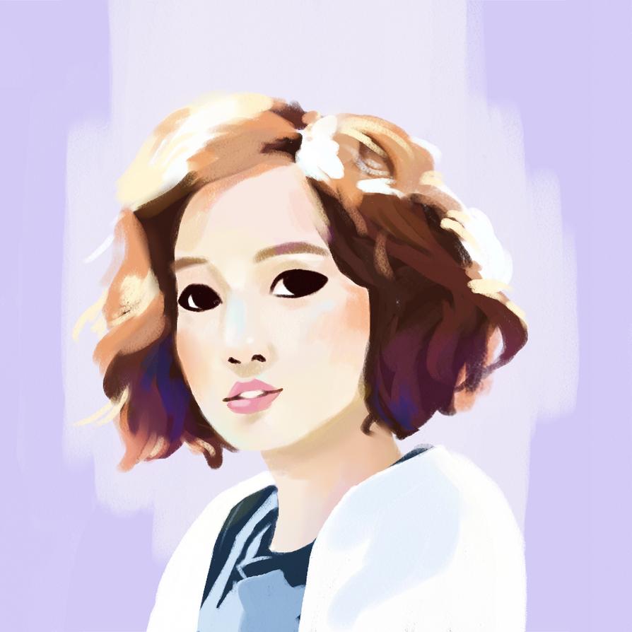 portrait study by meowgirlc3
