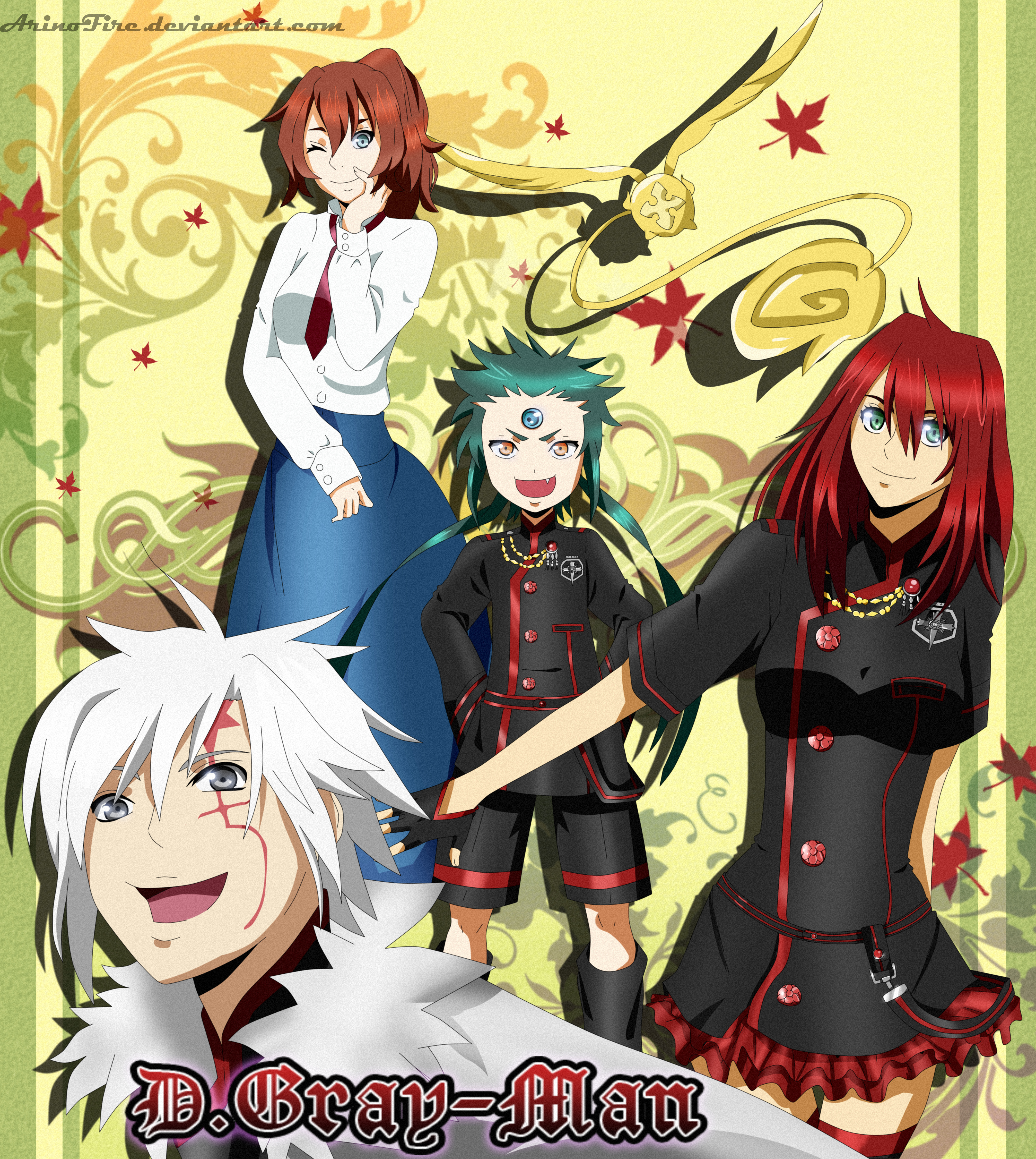 D Gray Man By