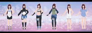 Arino's outfits