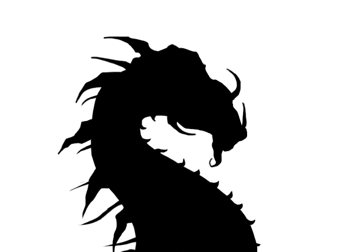 Dragon Silhouette by xKeren on DeviantArt