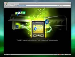 Peer2net - Website Design