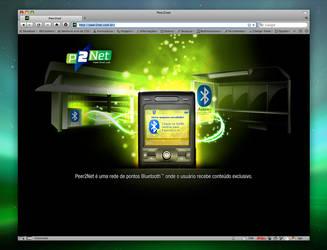 Peer2net - Website Design by pok3
