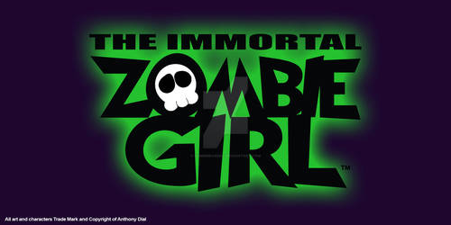 Zombie Girl Logo