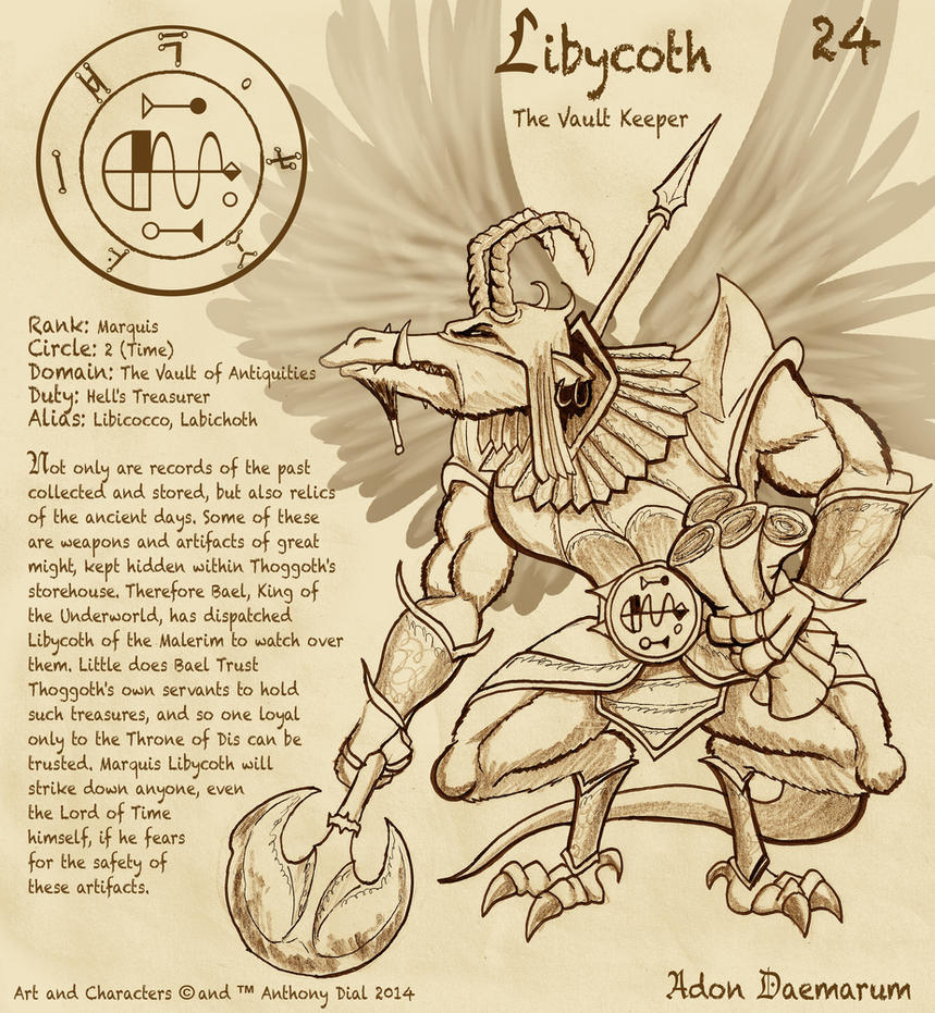Adon Daemarum 24- Libycoth by Gummibearboy