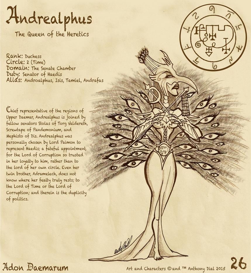 Adon Daemarum 26- Andrealphus by Gummibearboy