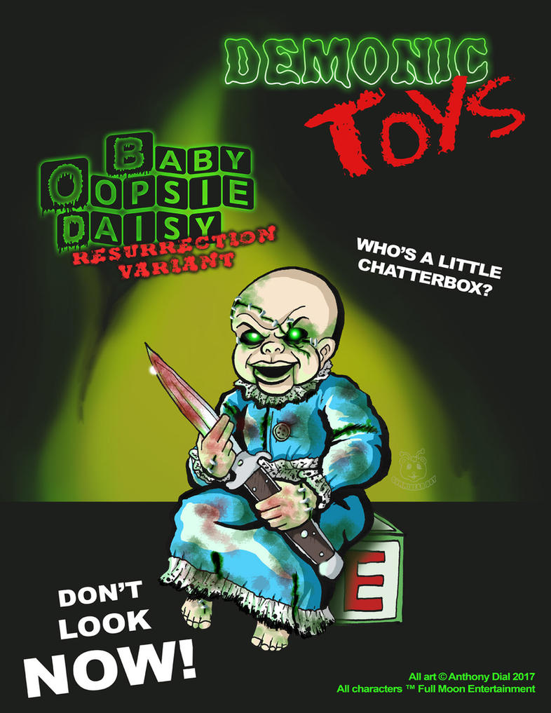 Demonic Toys: Baby Oopsie-Daisy Variant by Gummibearboy