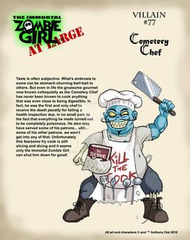Villain #77- Cemetery Chef