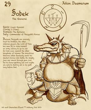 Adon Daemarum 29- Sobek