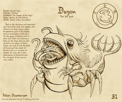 Adon Daemarum 31- Dagon