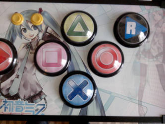 Project Diva Homemade Controller by Aryetis