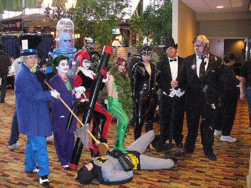 Batman Group - Starfest 2010 by aderynthemoose